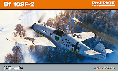 EDUARD 82115 WWII German Bf109F-2 in 1:48 ProfiPACK!!