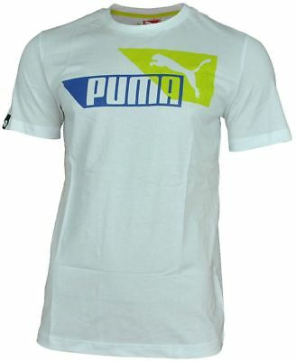Puma Opleiding Sport Tee T Graphic Heren Wit Shirt Casual Leisure arRrqT6Yw