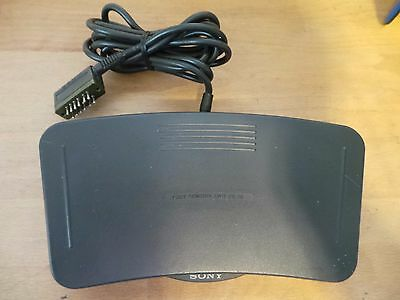 Sony FS-85 Transcribing Foot Pedal Control for Voice Editor Recorder