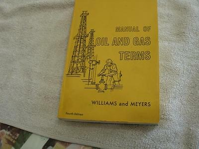 Manual of Oil & gas terms
