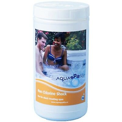 Blue Horizon 1kg Non-Chlorine Shock Granules Hot Tub Spa Swimming Pool Chemicals