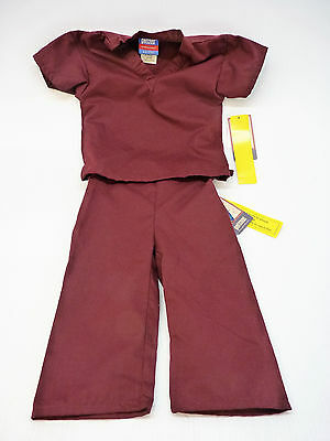 GelScrubs Kids Unisex Medical Scrub Set Shirt & Pants 6709 - NEW
