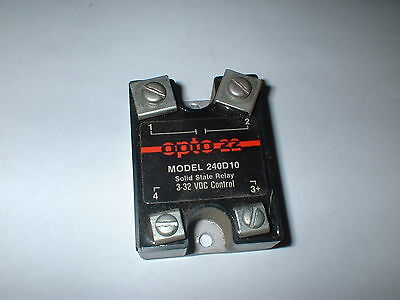 Opto 22 Solid State Relay 240D10 10 Amp 240VAC  3-32V DC CONTROL BOX#1A