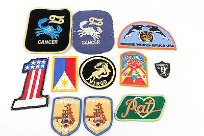Lot Of Vintage Clothing Patch's