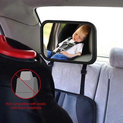 Adjustable Practical Baby Car Mirror Auto Kids Rearview Back Seat Acrylic Mirror