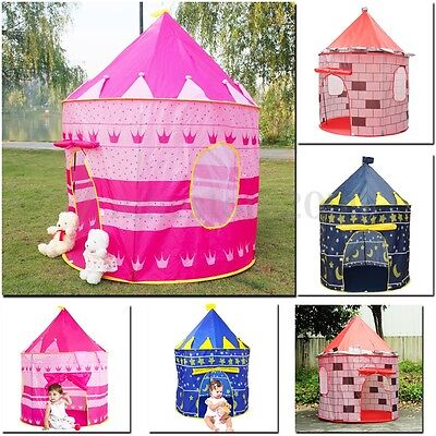 HUGE Baby Kids Portable Outdoor Indoor Palace Castle House Play Tent Playhouse