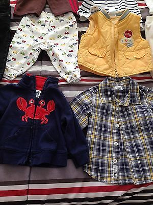 Lot of 32 Baby Clothes (0-9 Months)