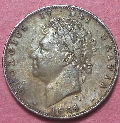Great Britain 1826 Farthing Vf<>Br1151
