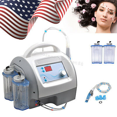 Facial Skin Care Water Jet Peeling Exfoliating Hydro Spa Beauty Machine US STOCK