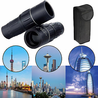 30 x 52 High Definition Power Double Zoom Monocular Telescope Day & Night Vision