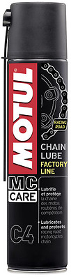 Grasso Spray per Catena Motul C4 Chain Lube Factory Line Racing Road conf 400 ml