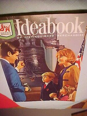 1968 Ideabook S&H GREEN STAMP catalog vintage A-Z merchandise near new condition