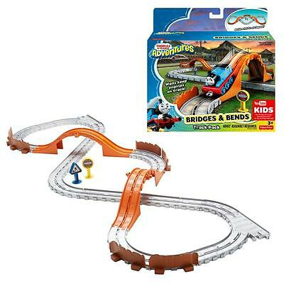 Thomas and Friends - Rails Set Bridges and Curves - Adventures Mattel