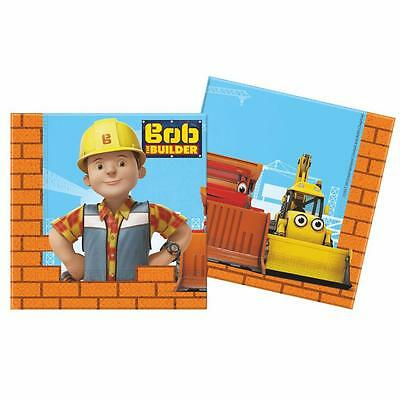 Bob the Builder - Party Birthday Napkins 20 Pieces
