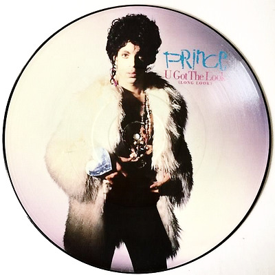 "PRINCE - U Got The Look (12"") (Picture Disc) (EX+/NM)"