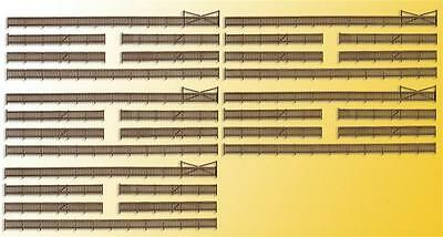 Kibri Fence with Gates - Kit - Z Gauge - 36661
