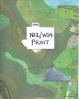 Jerry's Map: Signed print of Panel N12/W24