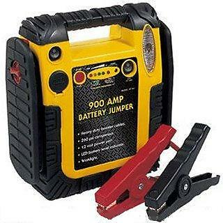 12V 900A Heavy Duty Portable Power Pack & Jump Start booster travel boat