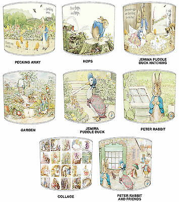 Lampshade Ideal To Match Beatrix Potter Peter Rabbit Duvets Wallpaper & Cushions
