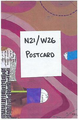 Jerry's Map: Postcard of Panel N21/W26 Signed and Mailed to You!