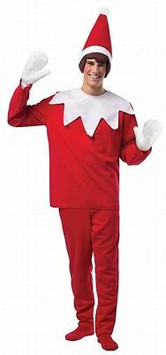 Elf On The Shelf Adult Costume One Size Fits Most