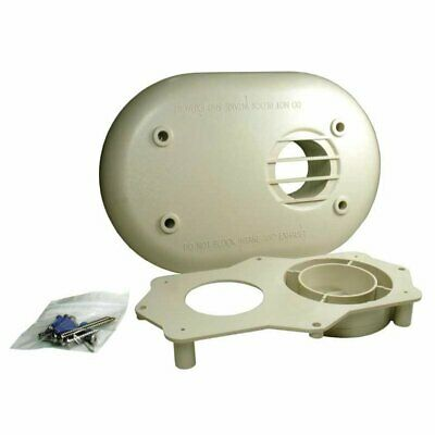 Rheem SP20285 2-Inch Tankless Water Heater Horizontal Vent Termination Kit