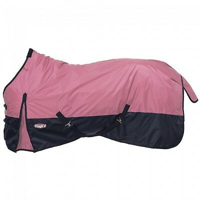 """Tough-1 420D Waterproof Poly Turnout Blanket - Pink - 72"""" - NWT-"""