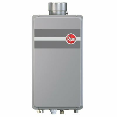Rheem RTG-84DVLN-1 180,000-BTU Indoor Low NOx Natural Gas Tankless Water Heater
