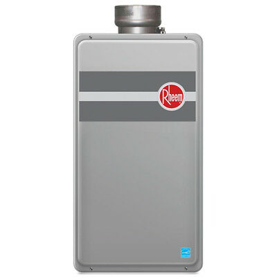 Rheem RTG-95DVLN-1 199,900-BTU Indoor Low NOx Natural Gas Tankless Water Heater
