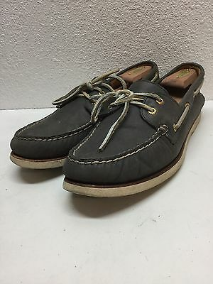 Sperry Top Sider Gold Cup Navy Leather Boat Shoe Men's Size 11.5 M