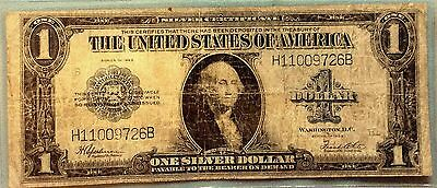 1923 $1 One Dollar Silver Certificate Complete Nice FREE SHIPPING