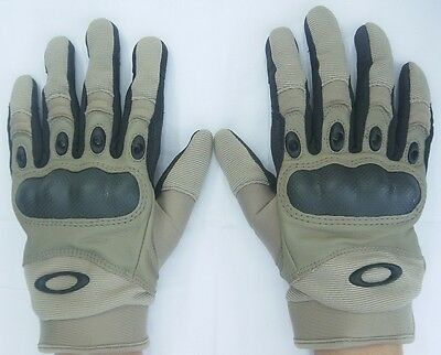 Oakley Special Forces US Combat Military Glove Army Handschuhe Khaki XL / XLarge