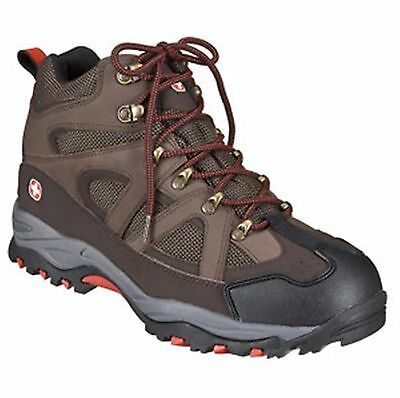Swiss Gear 4 Mile Hiking Boots Shoes Men's Size 9 Brown NEW