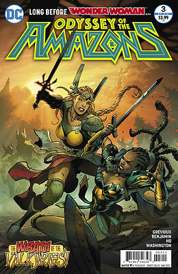 The Odyssey of the Amazons  (2017) #3 VF/NM Ryan Benjamin Cover Wonder Woman