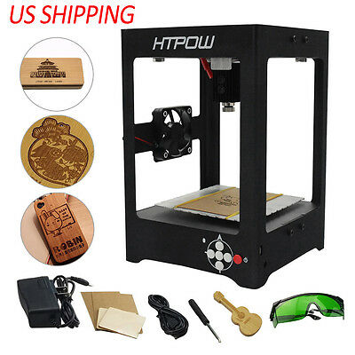 HTPOW 1000MV DIY Mini USB Laser Engraver Cutting Art Carving Printer Machine