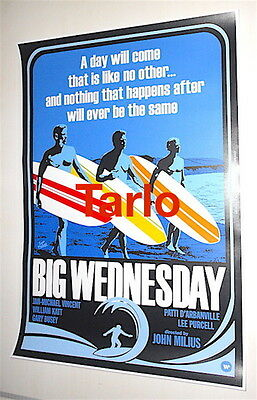 BIG WEDNESDAY - Un mercoledì da leoni - poster cinema film nuovo