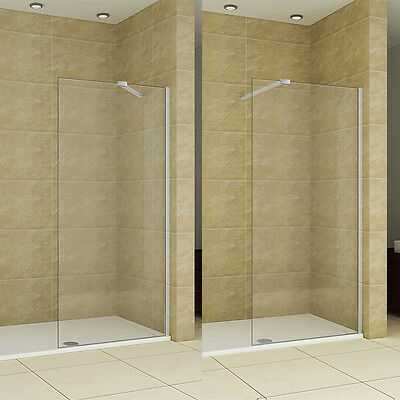 1850 1950 2000 Wet Room Shower Screen Enclosure 8mm NANO Glass Cubicle Panel