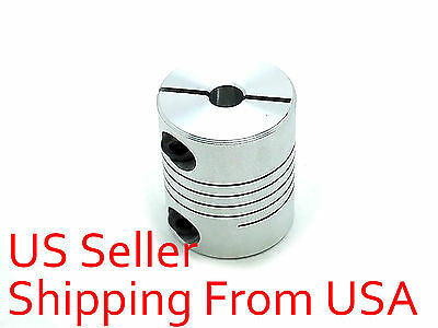 5 x 5mm Flexible Shaft Coupling Rigid CNC Stepper Motor Coupler D 20mm L 25mm