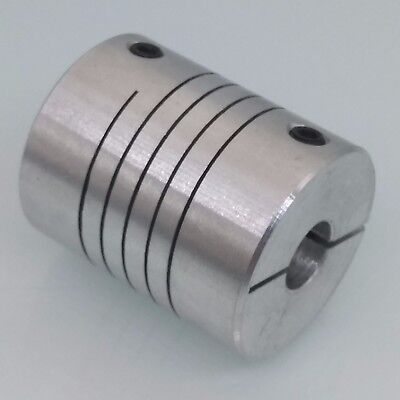 8 x 8mm Flexible Shaft Coupling Rigid CNC Stepper Motor Coupler D 20mm L 25mm