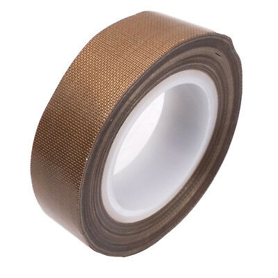 US Stock PTFE Teflon Adhesive Tape Nonstick 0.13mm x 15mm x 33ft