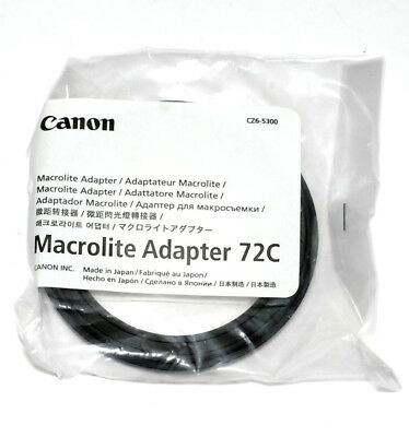 Canon Macrolite Adapter 72C für ML-3 MR-14EX MT-24EX (NEU/OVP)