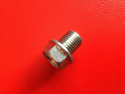 MOTORCYCLE ENGINE OIL SUMP PLUG / DRAIN BOLT 14mm THREAD