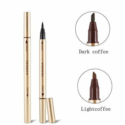 Waterproof Eye Brow Eyeliner Liquid Eyebrow Pen Pencil Makeup Cosmetic Tool NEW