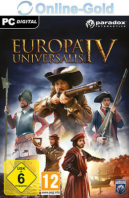 Europa Universalis IV - Steam Digital Download Code - PC Game Key EU4 [EU/DE]