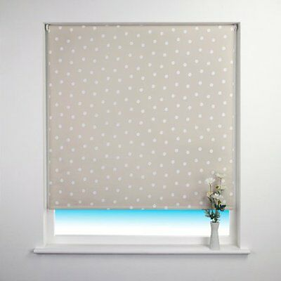 Sunlover THERMAL BLACKOUT Roller Blinds. Amelie Spot Taupe. Sizes 60, 90, 120cm