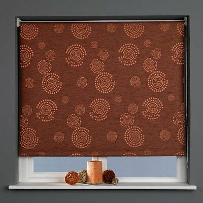 Sunlover THERMAL BLACKOUT Roller Blinds. Cosmic Russet. Widths 60cm -180cm