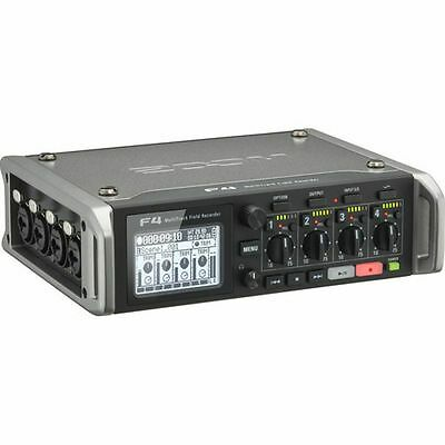 Zoom F4 Professional Multitrack Field Recorder