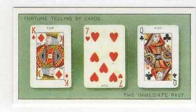 #10 By Cards Immediate past Telling your fortune card r