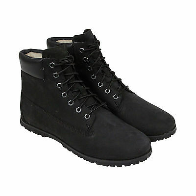 Timberland Joslin 6In Mens Black Leather Lace Up Boots Shoes