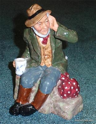 """Owd Willum"" Royal Doulton Figurine HN 2042 - RARE RETIRED COLLECTIBLE PIECE"